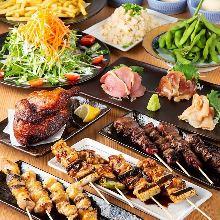 4,000日圓套餐 (9道菜)