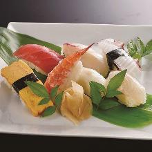 7種握壽司拼盤