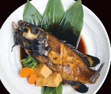 燉魚或鹽烤魚