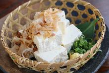 冷拌島豆腐