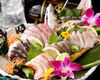 HANAZAKARI自助暢飲套餐+產地直送生魚片拼盤
