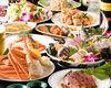HANAZAKARI自助暢飲套餐+拼盤+產地直送生魚片拼盤or豪華船拼盤自選。