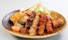 7種烤雞串拼盤