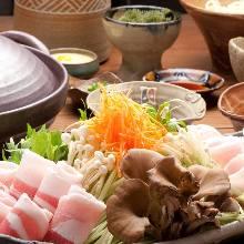 5,162日圓套餐 (11道菜)