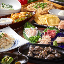 2,000日圓套餐 (8道菜)