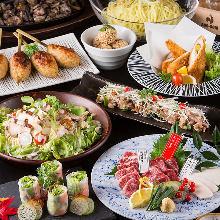 5,500日圓套餐 (9道菜)
