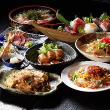 3,800日圓套餐 (8道菜)