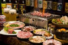 2,500日圓套餐 (18道菜)