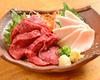 生馬肉 肥瘦肉紅白拼盤