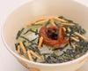 茶泡飯(梅、鮭魚、海帶、明太子)