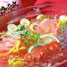 義式生醃鮭魚