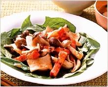 蘑菇培根沙拉