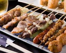 10種串燒拼盤