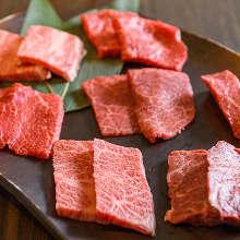 7種和牛肉拼盤