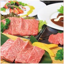 4,000日圓套餐 (14道菜)