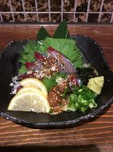 芝麻鯖魚(鄉土料理)