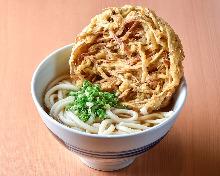 炸牛蒡天婦羅烏龍麵