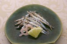 鹽烤丁香魚