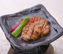 味噌烤豬肉