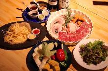 4,980日圓套餐 (9道菜)