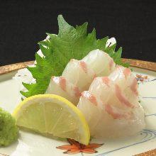 鯛魚(生魚片)