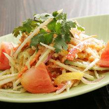 泰式香辛蟹塊