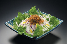 沙丁雛魚水菜沙拉