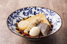 5種關東煮拼盤