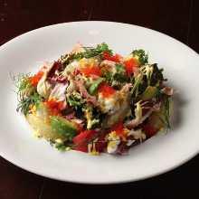 鮮蝦酪梨沙拉