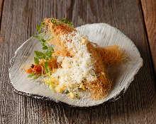 中東麵粉條裹鮮蝦