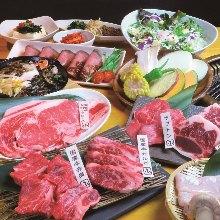 3,480日圓套餐 (100道菜)