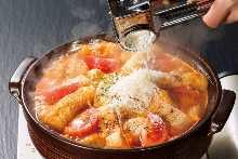 番茄起司辣味火鍋