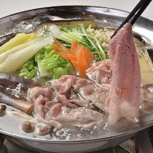 豬肉涮涮鍋