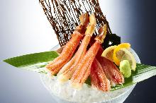 蟹肉(生魚片)