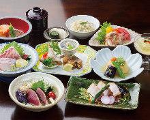 7,020日圓套餐 (8道菜)