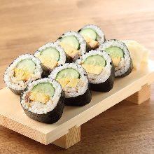 星鰻黃瓜捲壽司