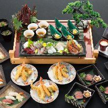 10,000日圓套餐 (8道菜)