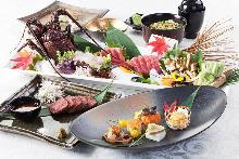 8,000日圓套餐 (9道菜)