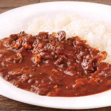 肉片蓋澆飯