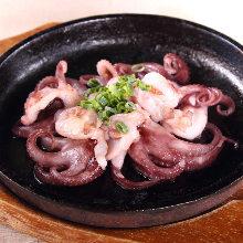 章魚鐵板燒