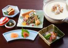 11,800日圓套餐 (9道菜)