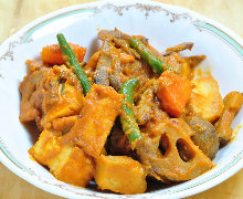 根菜豆腐咖哩
