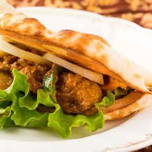 印度烤餅漢堡