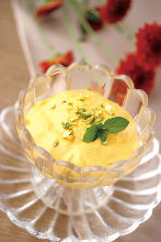 芒果優格甜品