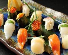 10握壽司拼盤