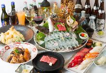 9,350日圓套餐 (8道菜)