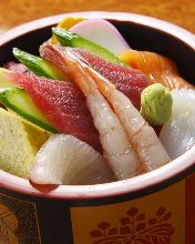 什錦壽司午餐