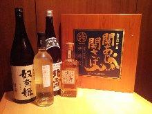 A rich variety of JAPANESE SAKE