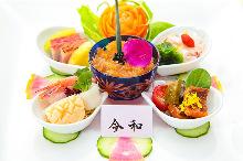 6,890日圓套餐 (8道菜)
