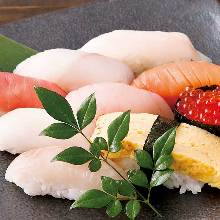 握壽司拼盤